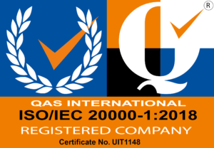 Certificate image of ISO/IEC 20000-1:2018