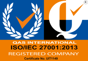 Certificate image of ISO/IEC 27001:2013